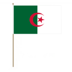 Algeria Country Hand Flag - Large.